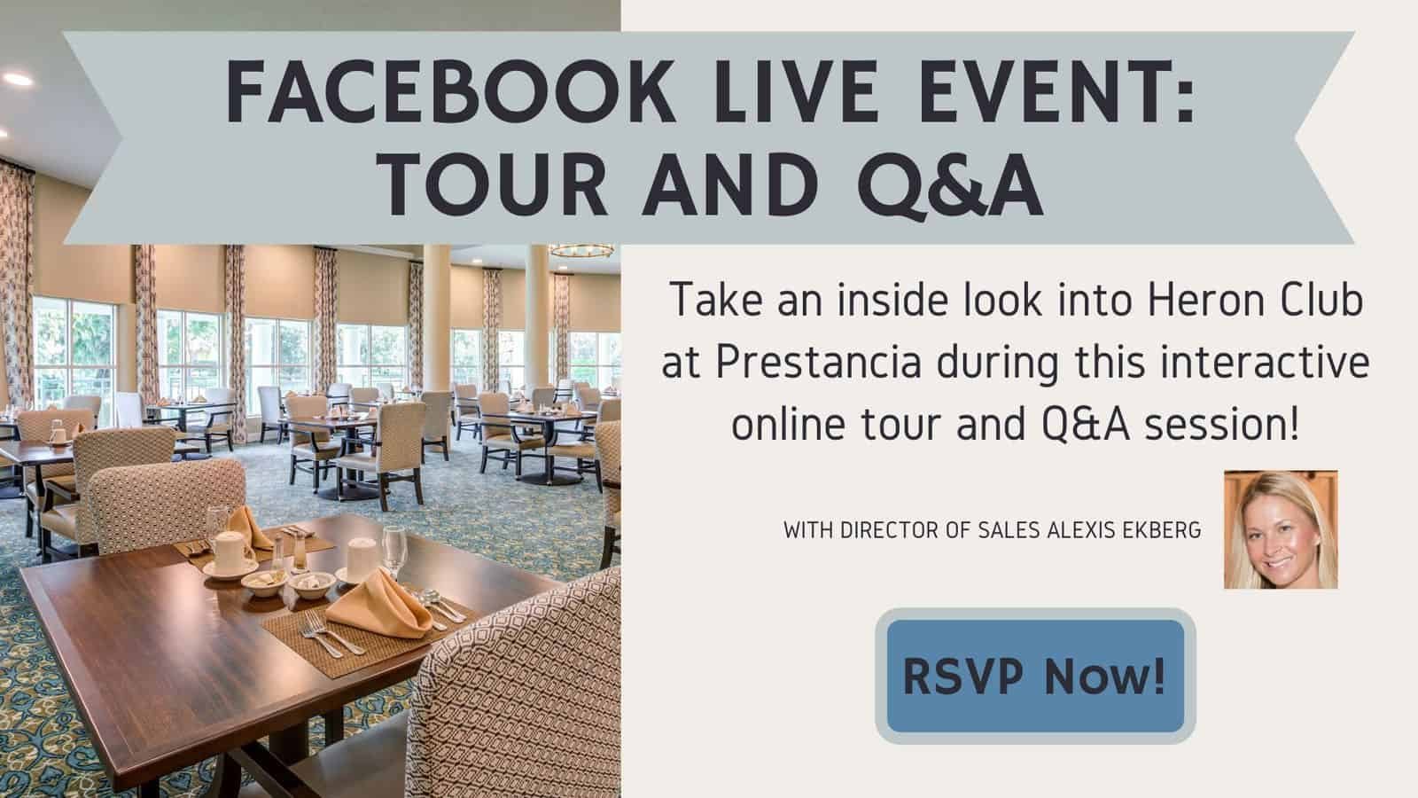 Facebook Live Event: Tour And Q&A – April 16th, 2020